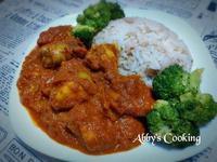 義式茄汁雞肉咖哩飯