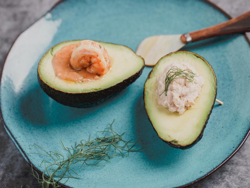 低醣料理 <蔬果> 雙色酪梨船
