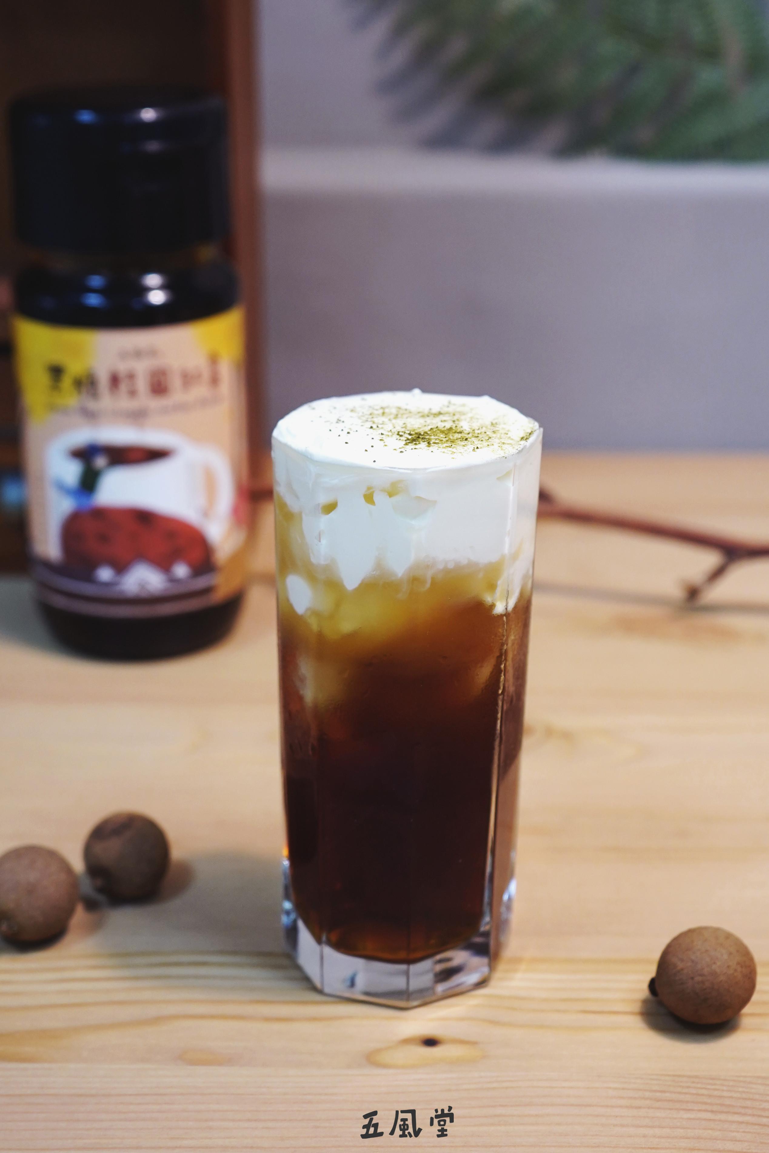 奶蓋桂圓紅棗茶