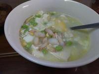蟹肉豆腐湯