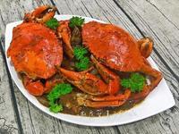 黑胡椒奶油蟹