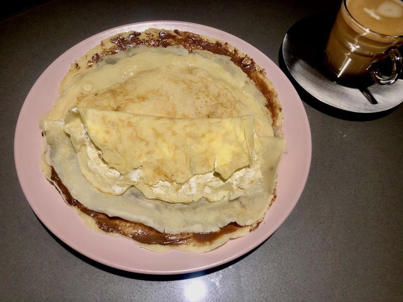 軟軟的『法式可麗餅Crêpe』