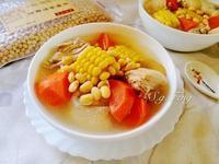 黃豆玉米雞湯