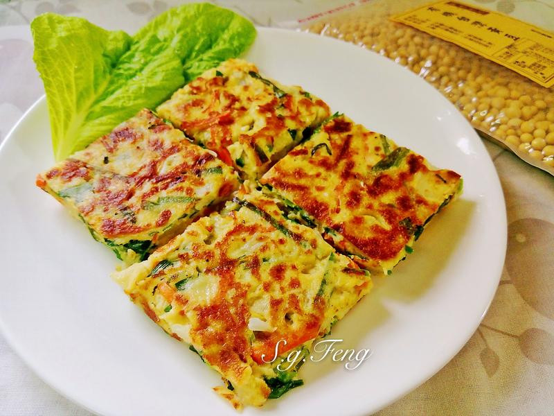 黃豆蔬菜煎餅