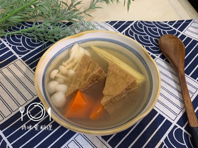 黃金豆腐湯(油豆腐)