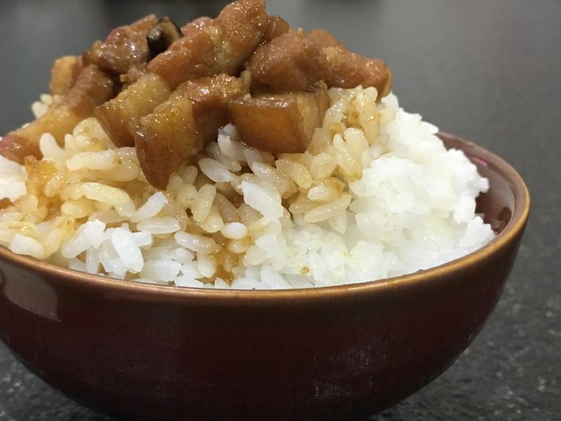 香菇滷肉飯