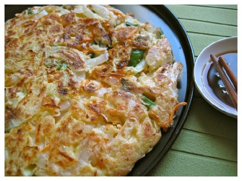 蔬菜煎餅~『五月花妙用廚房紙巾』