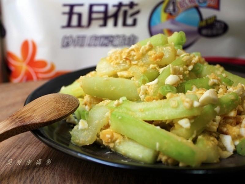 鹹蛋炒黃瓜