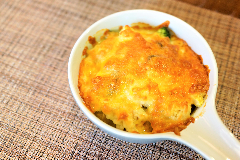 立秋食-焗烤白醬花椰菜