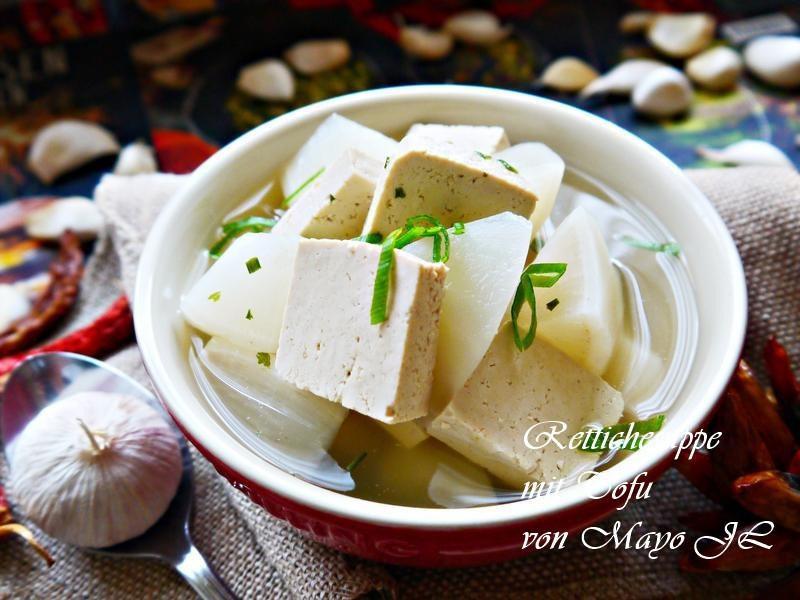 白蘿蔔豆腐湯