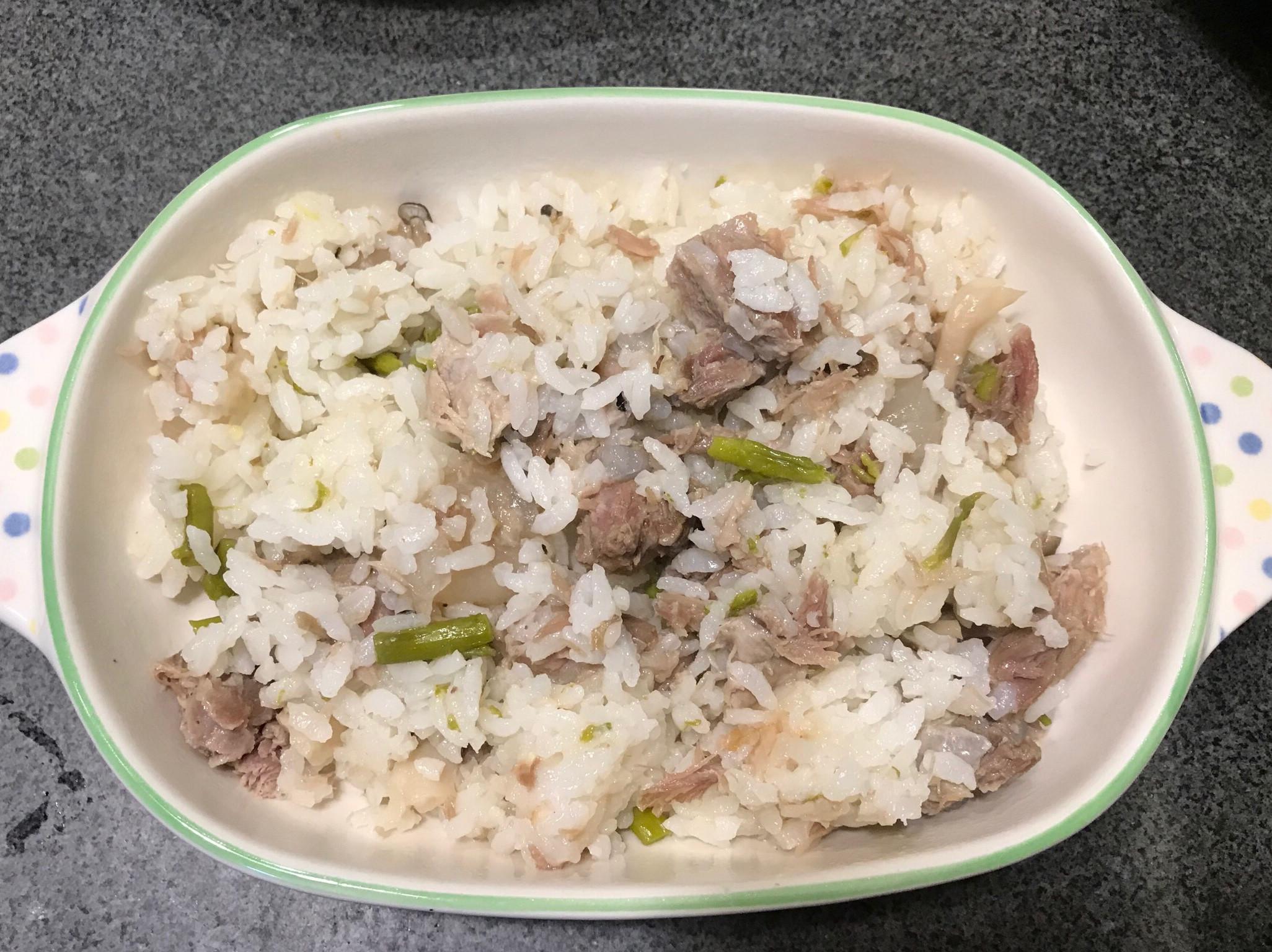 清燉軟骨蔬菜炊飯(新興四六一軟骨肉)