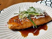 照燒鮭魚腓力排