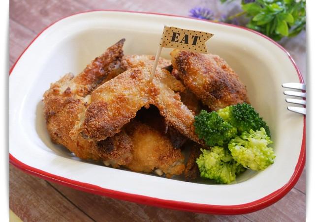 烤箱完成「酥炸雞翅」不油炸一樣好吃 ♪