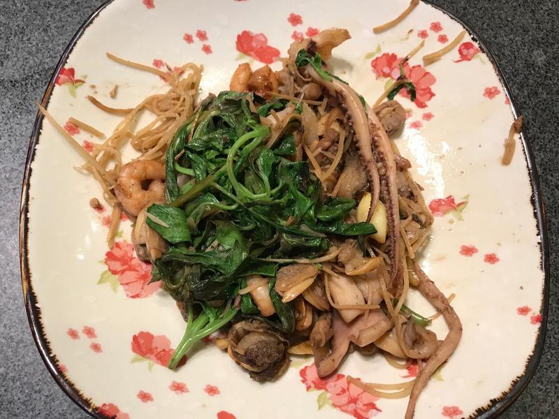 咖喱醬燒綜合海鮮