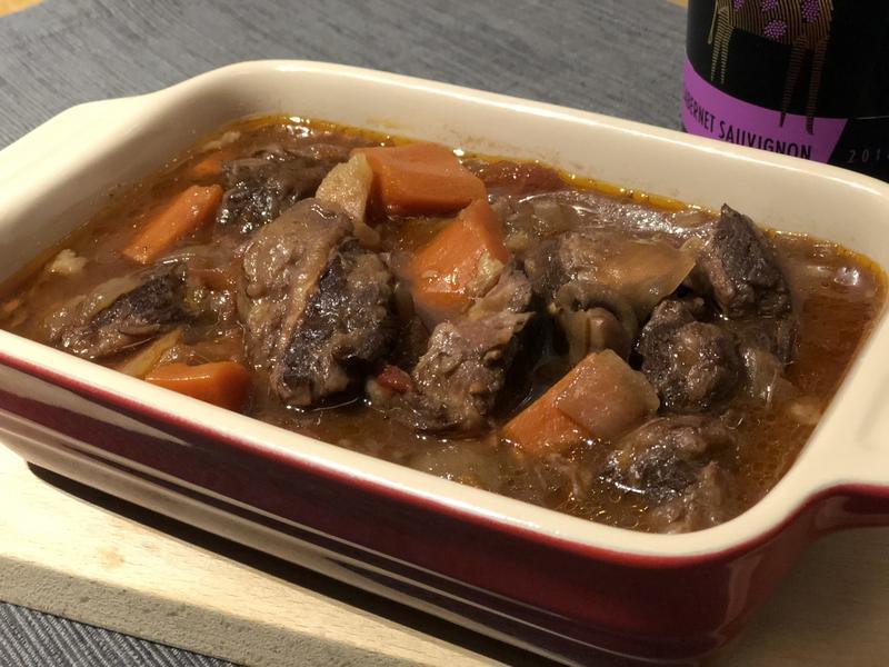 紅酒燉牛肉(一鍋料理)