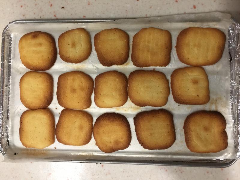 無敵小烤箱~黃色戀人餅乾