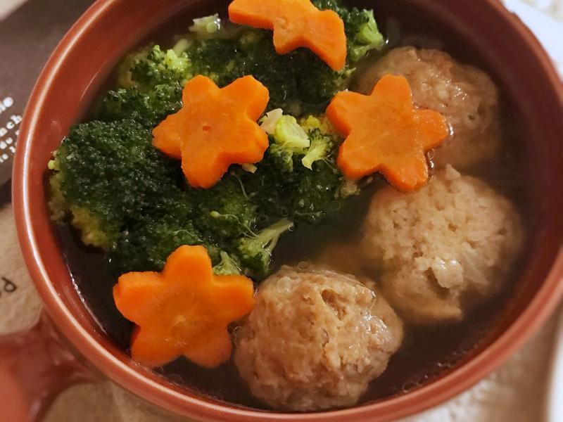 小肉丸蔬菜湯 (露營OK)