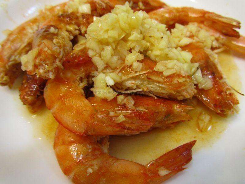 5分鐘料理-香蒜蝦
