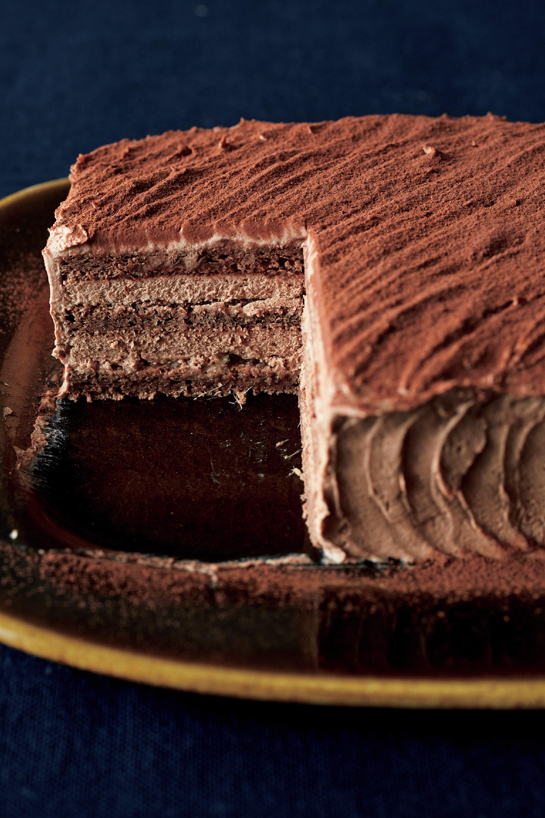 薑汁巧克力蛋糕