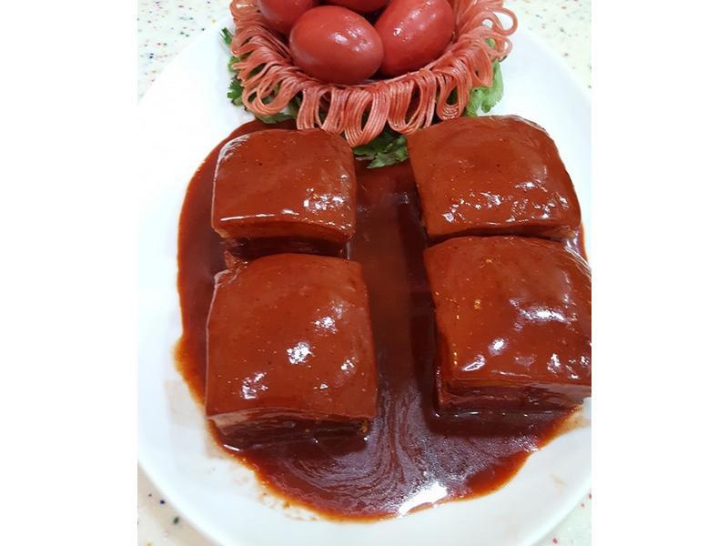 紅糟腐乳肉