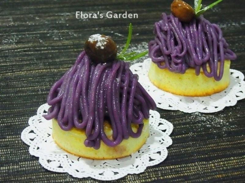 《免烤》紫薯蒙布朗