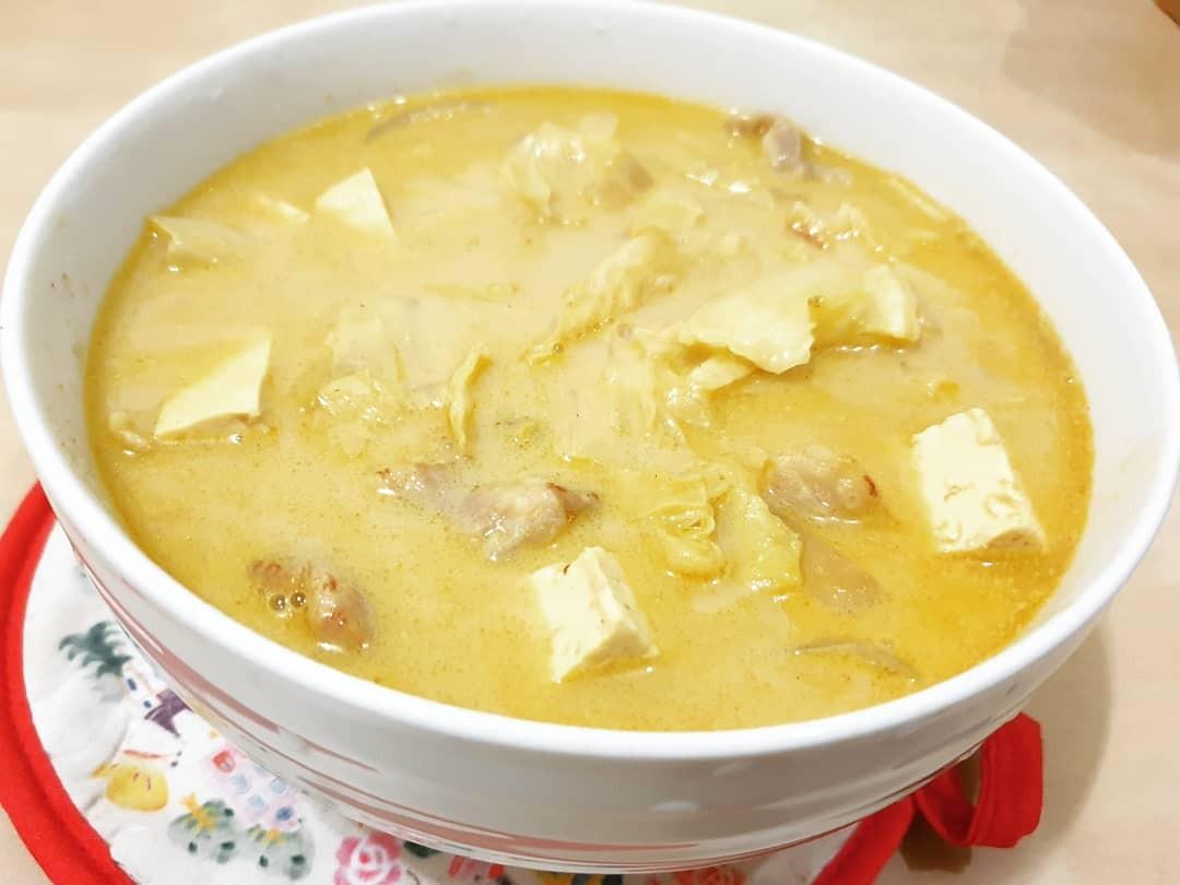 奶香豬肉豆腐湯咖哩