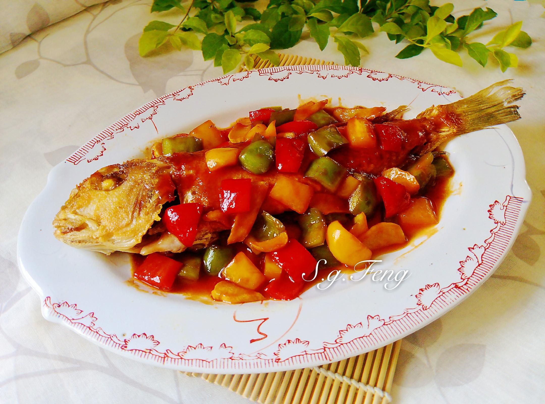 糖醋魚(馬頭魚)