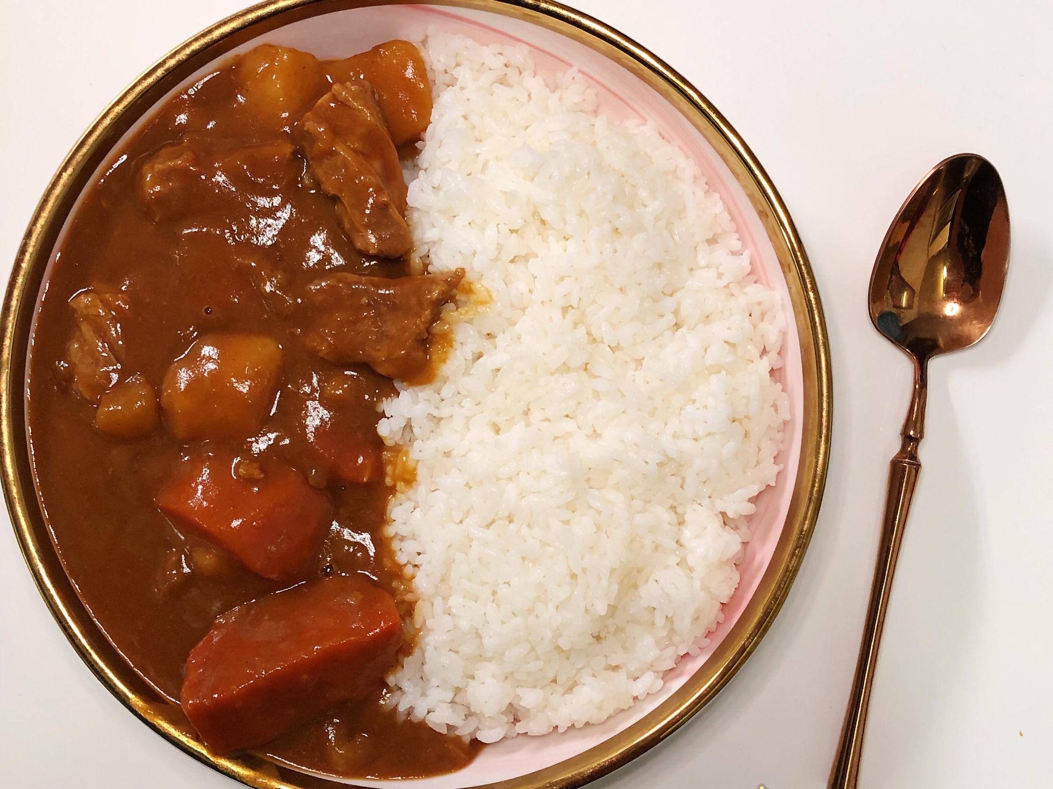 ☀️牛肉咖喱飯☀️飛利浦萬用鍋