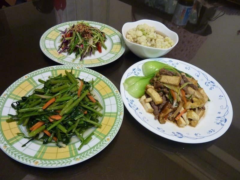 我也做了--500卡減脂餐-家常豆腐定食457kcal