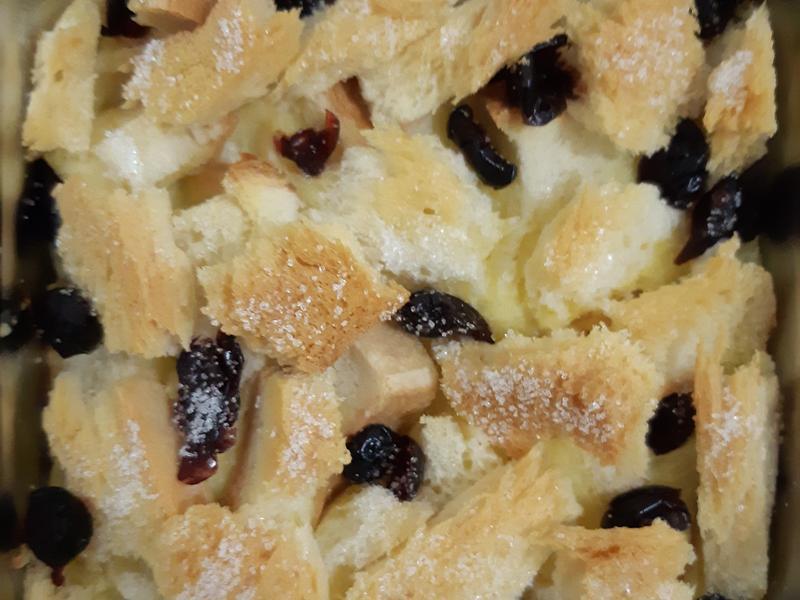 吐司布丁(蜂蜜蔓越莓乾口味)