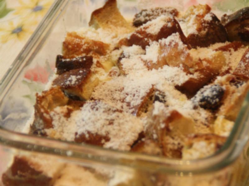 簡易甜點-麵包布丁
