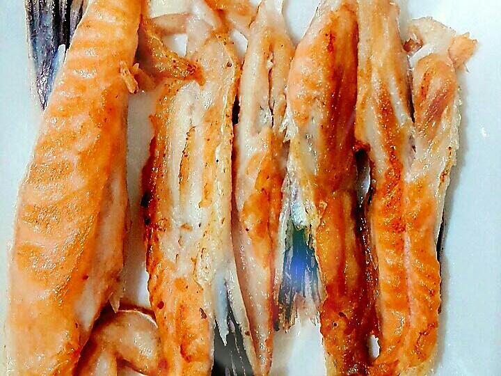 香煎鮭魚條