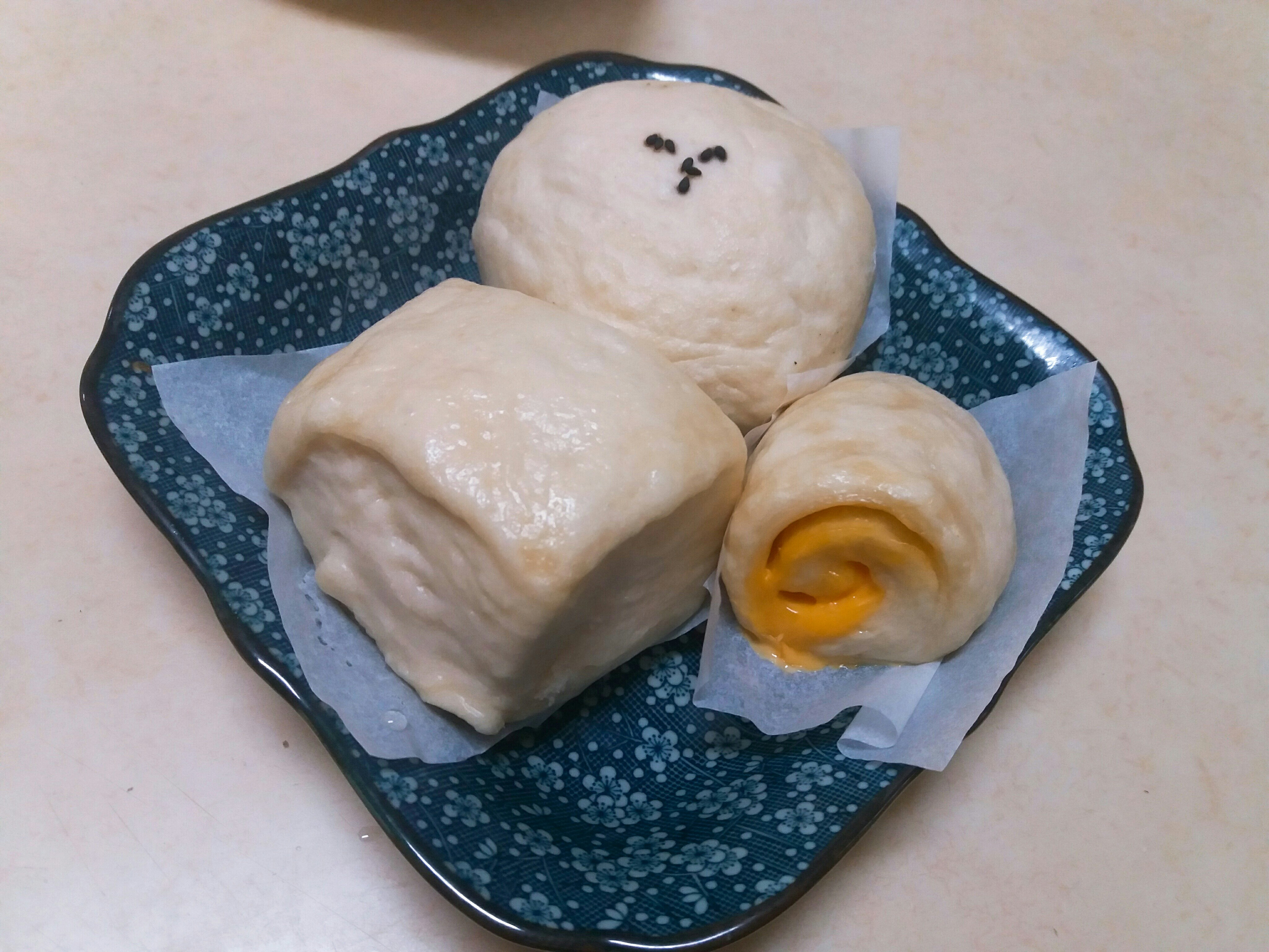 營養穀奶饅頭包子三吃