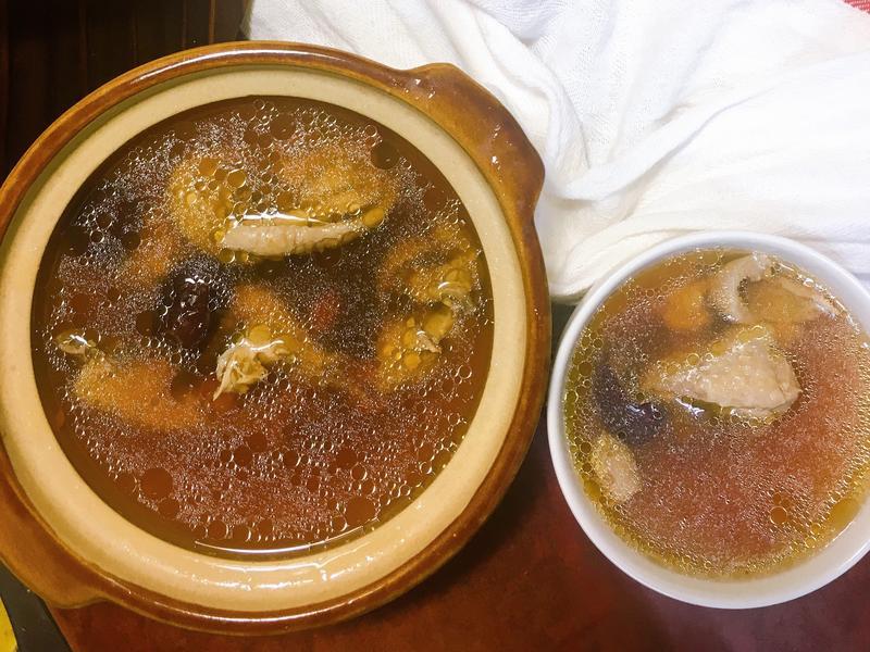 簡易電鍋燉雞湯