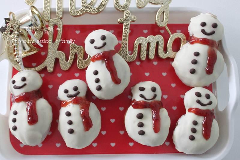【肉桂打噴嚏】聖誕節限定蛋糕甜甜圈