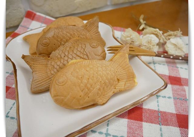 鹹甜滋味「起士鯛魚燒」小孩一尾接一尾 ♪