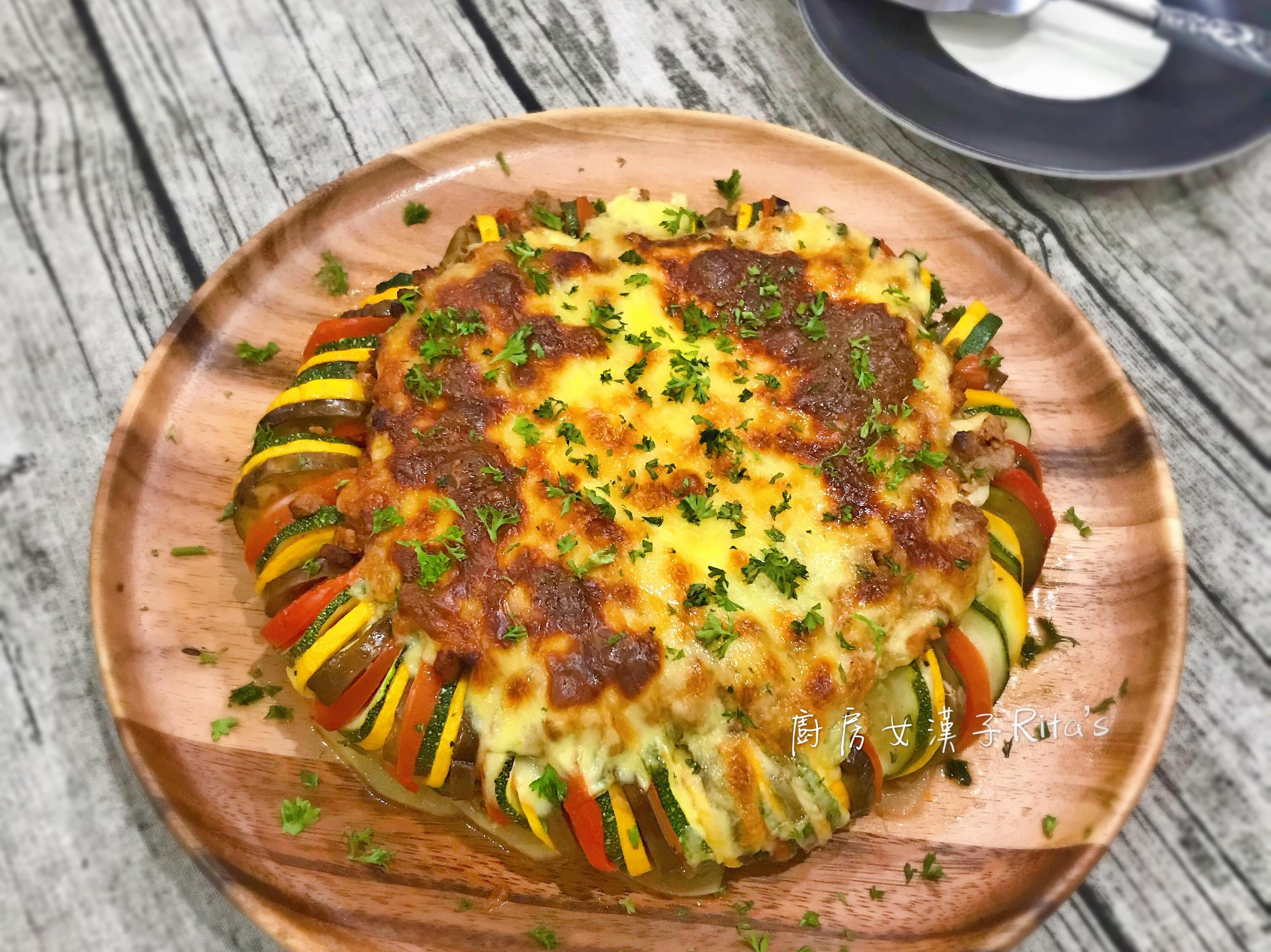蕃茄肉醬起司燉菜Ratatouille