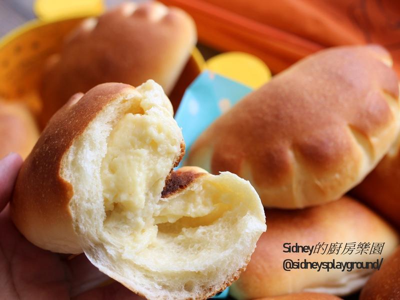 熊掌卡士達麵包