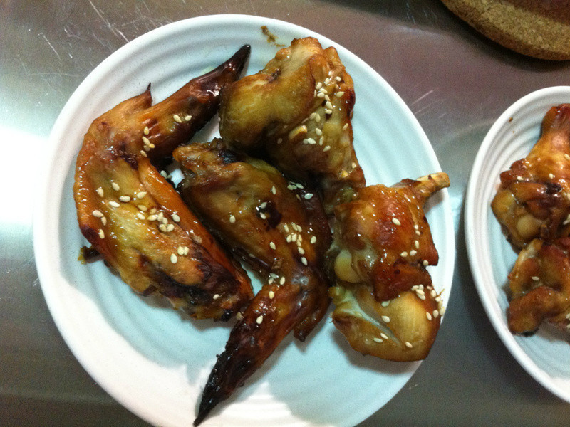 照燒烤雞翅〈烤箱料理〉