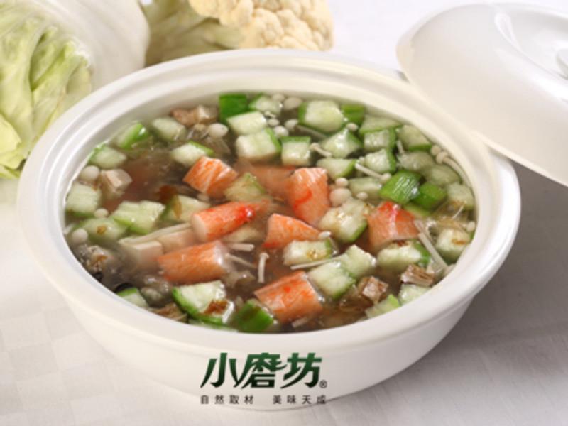 【小磨坊】翡翠海鮮豆腐羹