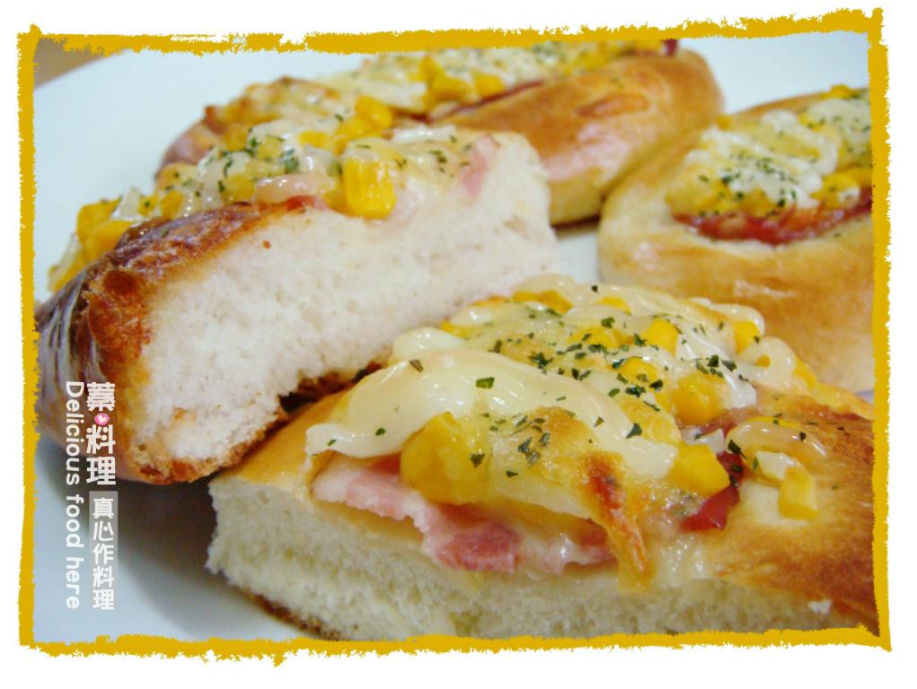 玉米培根麵包