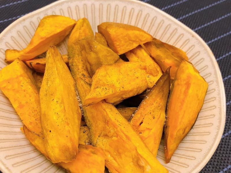 氣炸鍋料理-椒鹽地瓜薯條