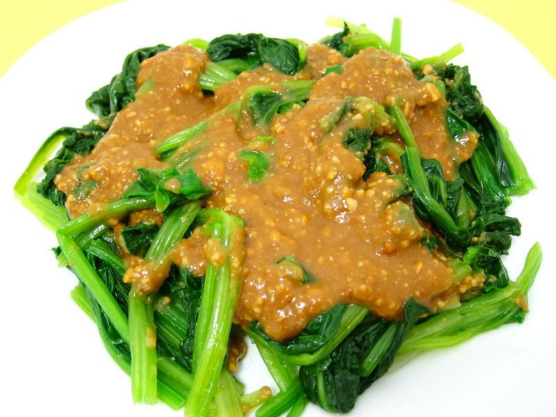 花生醬菠菜