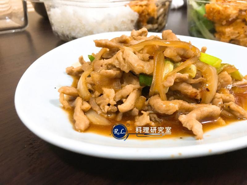 【家常菜】照燒豬肉(15分鐘上菜)