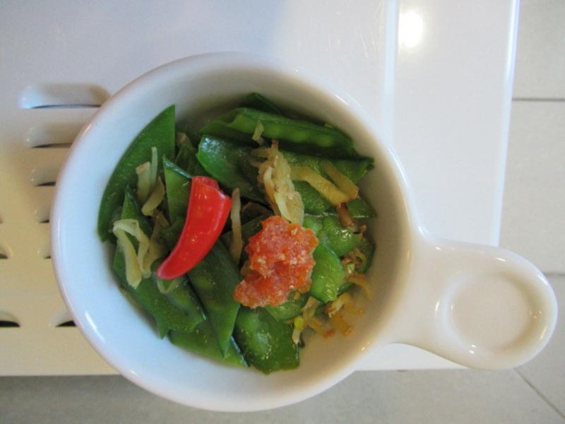 蟹黃荷蘭豆