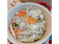 秋冬暖心 熱呼呼雙魚蒸飯 日式懷石