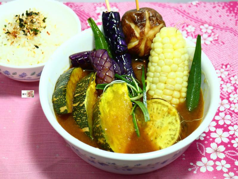 北海道野菜湯咖哩