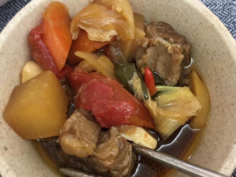 電鍋燉牛肉