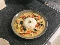 泰式雞肉綠咖喱
