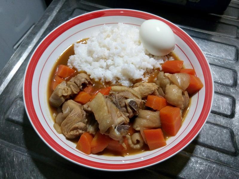 佛蒙特辣味雞肉咖哩飯